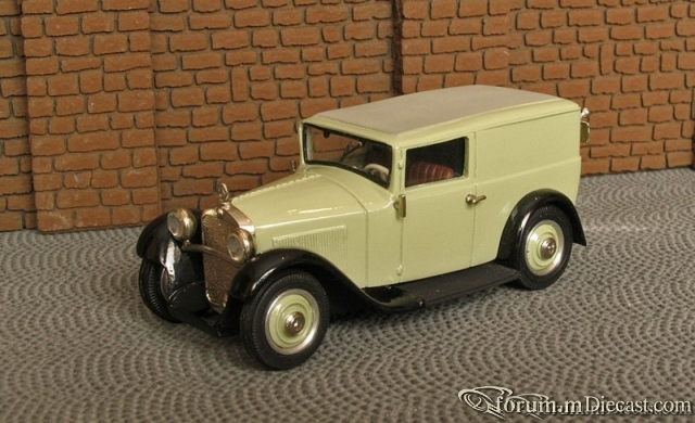 Mercedes-Benz W 15 Typ 170 KastenLieferwagen 1931-36 Master4