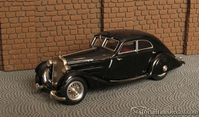 Mercedes-Benz W 18 Typ 290 Stromlinien Limousine 4 Turen 193