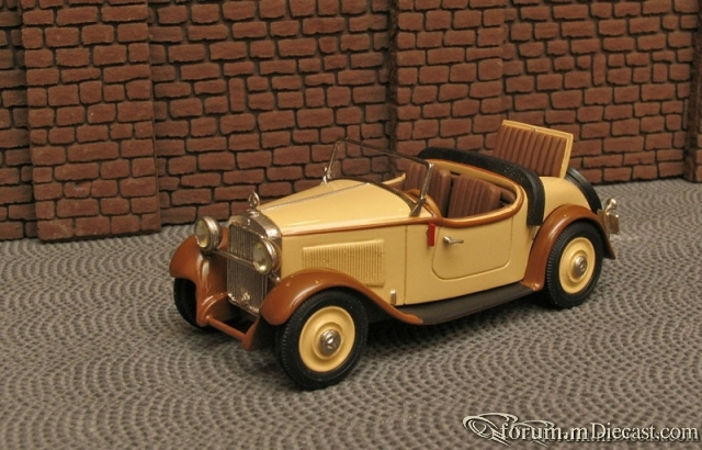 Mercedes-Benz W 15 Typ 170 Roadster 2 1932-36 Master43