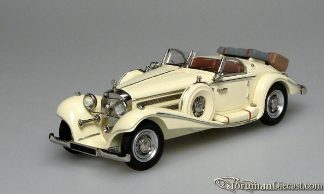 Mercedes-Benz W 29 540K Special Roadster 1936 Master43