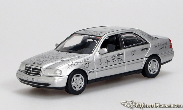 "Mercedes-Benz W202 C-klasse Sedan 1993 C180 ""Car of the"