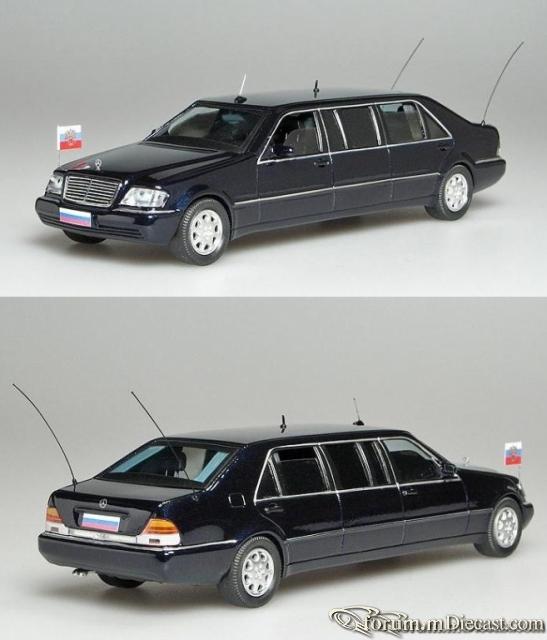 Mercedes-Benz W140 S-klasse Pullman Russian President Car Vi