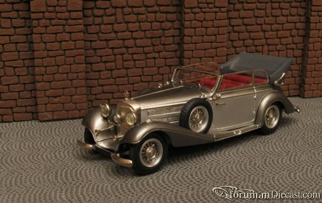 Mercedes-Benz W 29 540K Cabriolet B Open 1936-37 Master43