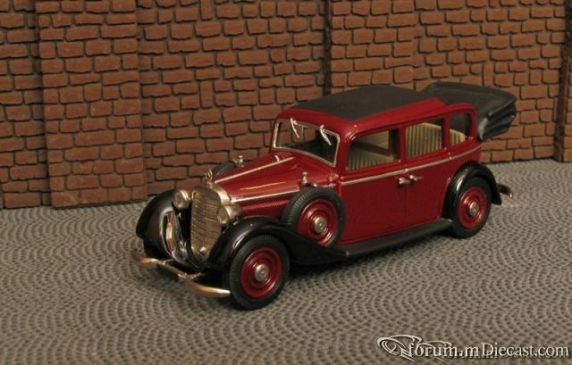 Mercedes-Benz W143 Typ 230 Droschken Landaulet 1937-41 Maste