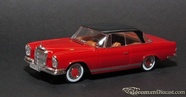 Mercedes-Benz W111 Coupe 220 SE 1961-65 Faller