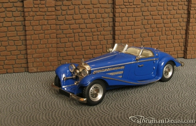 Mercedes-Benz W 29 540K Special Roadster 1936 Master43