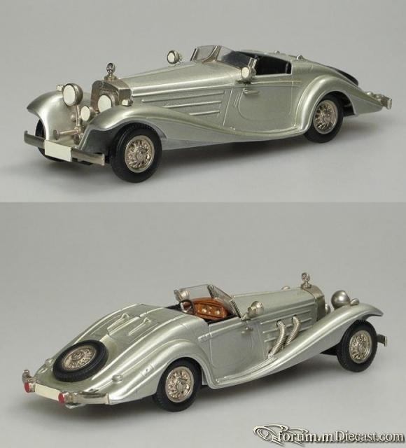 Mercedes-Benz W 29 540K Spezial Roadster 1936-1937 Western M