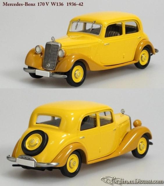 Mercedes-Benz W136 170 V Sedan 1937 Кузнецов