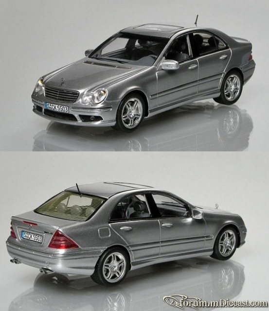 Mercedes-Benz W203 C-klasse Sedan C55 AMG Spark