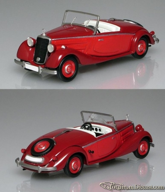 Mercedes-Benz W136 170 V Roadster 1939-1940 Кузнецов