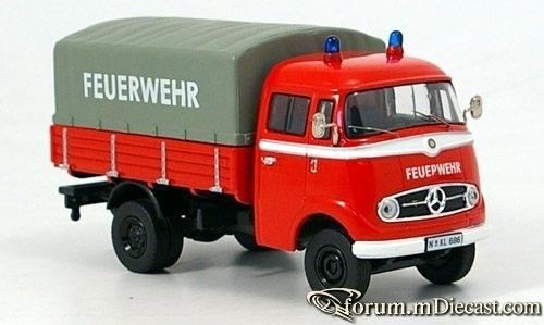 Mercedes-Benz L319 Pritschenwagen Feuerwehr 1 Premium Cls