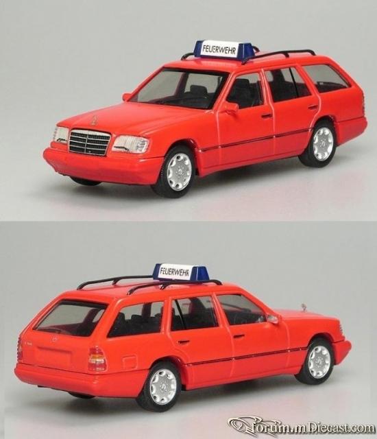 Mercedes-Benz W124 T-Modell 1993 E320 Feuerwehr Herpa