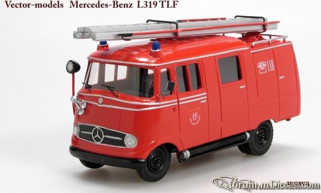 Mercedes-Benz L319 TLF Vector