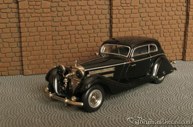 Mercedes-Benz W 29 540K Limousine 2 Turen Reichskanzlei 1939