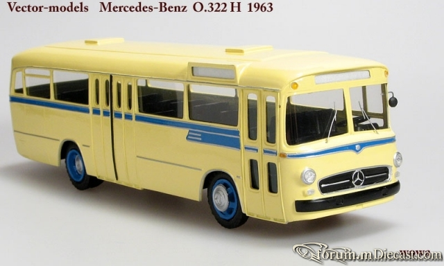 Mercedes-Benz O322H Vector