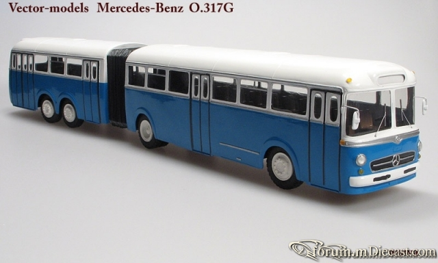 Mercedes-Benz O317G Vector