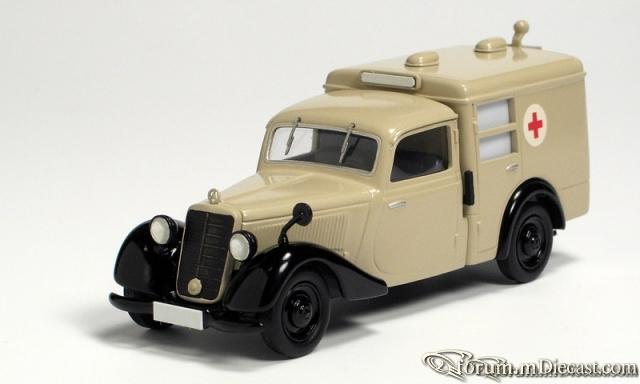 Mercedes-Benz W136 I 170 V Krankenwagen 1947-48 Кузнецов