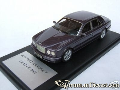 Bentley Arnage T 2004 Geneve Provence Moulage