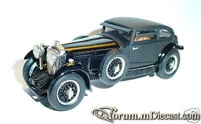 Bentley 6 1.2 Litre Barnate 1930 Western Models