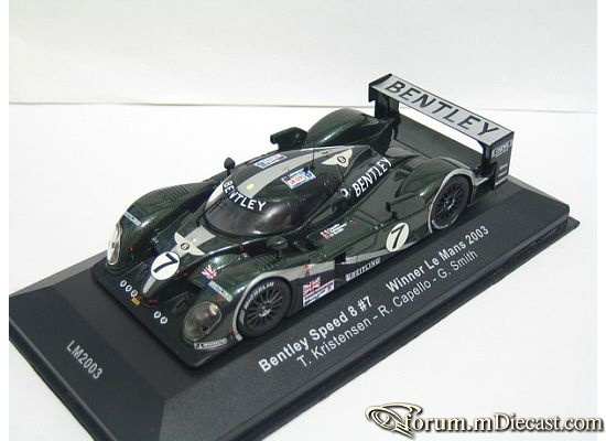 Bentley Le Mans 2003 EXP Speed 8 IXO