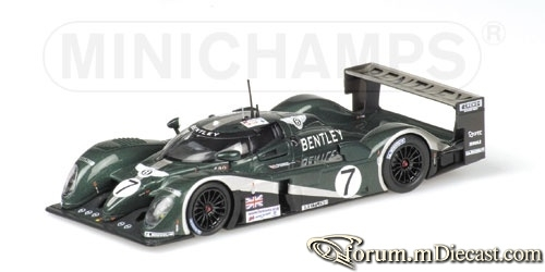 Bentley Le Mans 2003 EXP Speed 8 Minichamps
