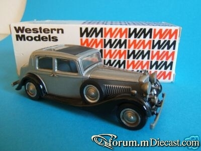 Bentley 4 1.4 Mulliner Western Models
