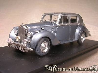 Bentley MK IV Rally di Monte Carlo 1952 Star 03B by Tron