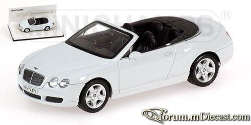 Bentley Continental GTC 2007 Minichamps