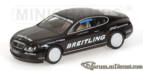 Bentley Continental GT World Record Car on Ice 2007 Minicham