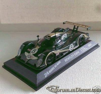 Bentley Le Mans 2001 EXP Speed 8 Ixo