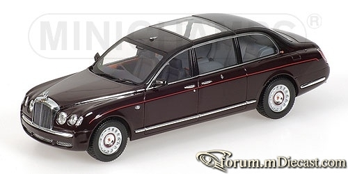 Bentley State Limousine 2002 Queens Car Minichamps