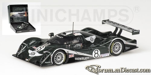 Bentley Le Mans 2002 EXP Speed 8 Minichamps
