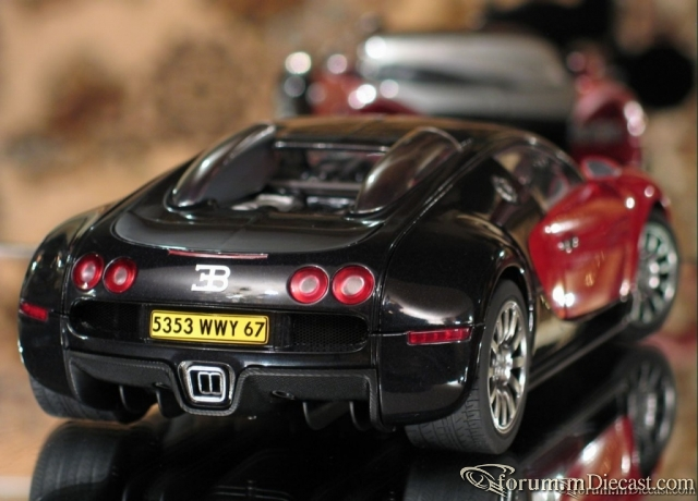 Bugatti EB 16.4 Veyron (production car) (Black/Red) by AUTOa