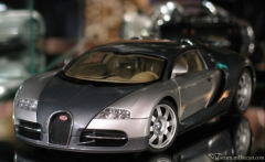 Bugatti EB 16.4 Veyron (GENF 2003) (Grey/Silver) by AUTOart