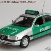 Mercedes-Benz W202 Sedan 1993 Polizei Minichamps/Conversion