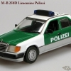 Mercedes-Benz W124 Sedan 1991 250D Polizei Minichamps