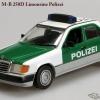 Mercedes-Benz W124 Sedan 1991 250D Polizei Minichamps