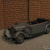 Mercedes-Benz W143 Typ 230 Torenwagen Wearmacht 1937-41 Mast