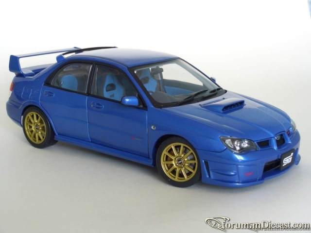 Subaru Impreza WRX STI 2006 bluemetallic АА