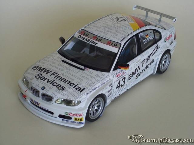 BMW 320i (E46) No.43, WTTC 2005 Genuine Parts
