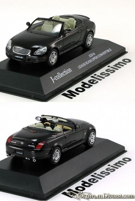 Lexus SC Serie 2 SC430 Open 2005 J-Collection
