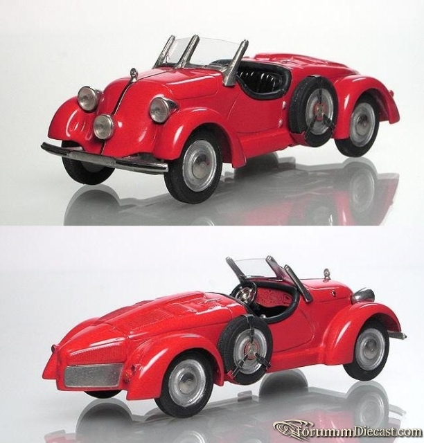 Mercedes-Benz W130 150 H Sport-Roadster 1934 Moscow Models