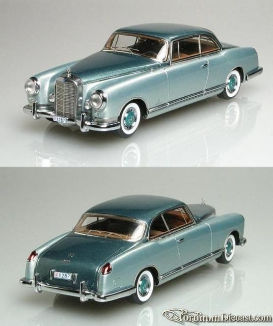 Mercedes-Benz W186 Coupe 300B Pininfarina 1956 NEO