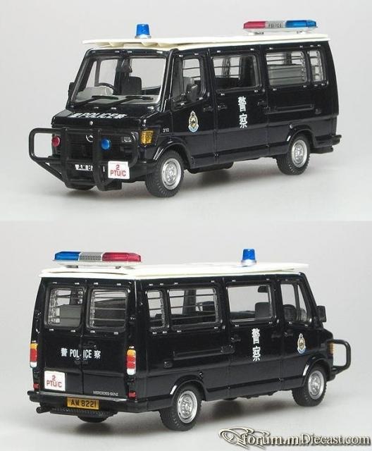 Mercedes-Benz 310 Police Tactical Van Hong Kong 1981-1984 Co