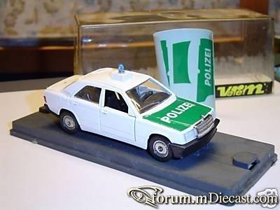 Mercedes-Benz W201 190E Polizei Verem