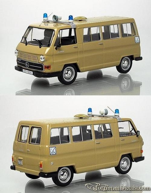 Mercedes-Benz N1300 Cuero de Policia Nacional 1980 Altaya/Ix