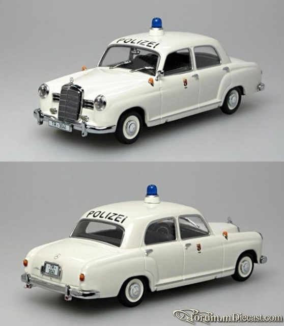 Mercedes-Benz W120 180 Sedan Polizei Trier Minichamps