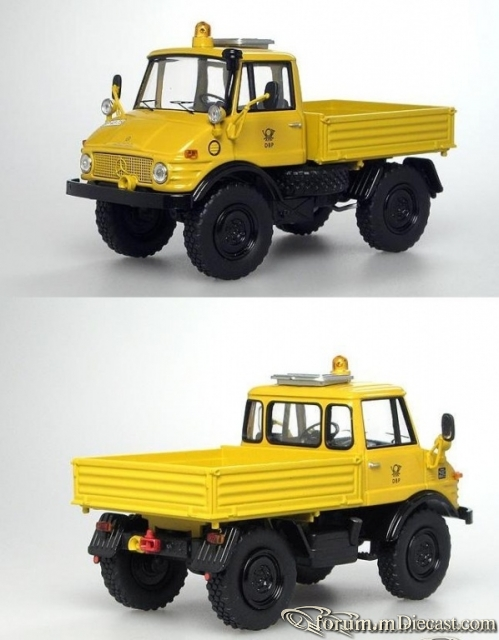 Mercedes-Benz Unimog 406 Deutsche Post Schuco
