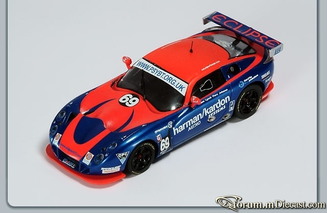 TVR Race British GT 2003 Championship Donington Eclipse Spar