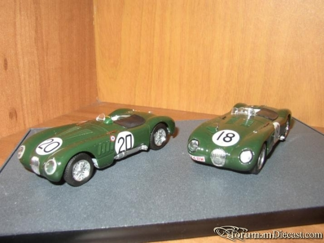 Jaguar SET C-type Le Mans Winners 1951-1953 Brumm